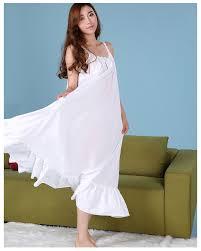 plus size cotton nightgowns princess summer dress