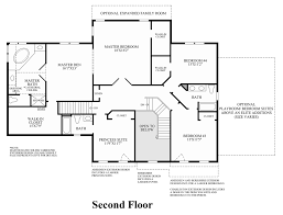 2nd Floor Plan Design Wake Forest Nc New Homes For Sale Hasentree Executive Collection