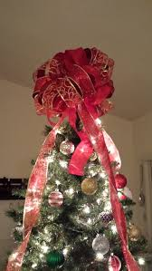 andrea faison diy bow tree topper