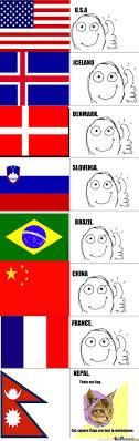 Flag Meme - hipster flag by bringerofdarkness meme center