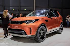 land rover discovery suv 2017 land rover discovery presented in paris as the brand u0027s u201cmost