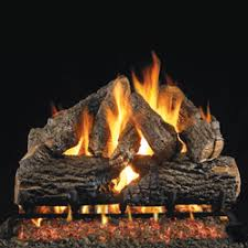 Artificial Logs For Fireplace by On Gas Logs