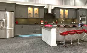 shaker grey kitchen cabinets sample door rta all wood in stock