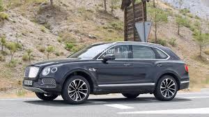 bentley bentayga plug in hybrid spied for the first time