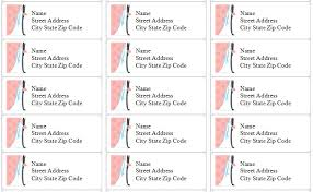 12 awesome printable address labels baby