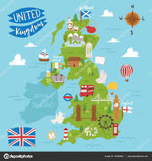 Great Britain On World Map by United Kingdom Great Britain Map Travel City Tourism