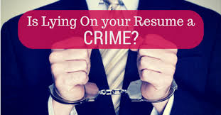is lying on your resume considered illegal and a crime wisestep 5 ways potential employers can tell when you re lying on your