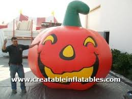 giant halloween inflatables pumpkins blow up spiders for sale