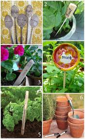 Vegetable Garden Labels by 85 Best Diy Plantenstekers Diy Garden Markers Images On