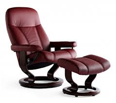 Stressless Consul Classic Recliner  Ottoman from 169500 by