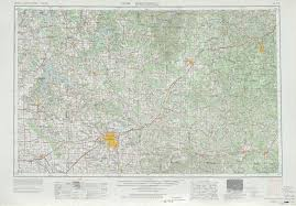 Joplin Mo Map Springfield Topographic Maps Mo Usgs Topo Quad 37092a1 At 1