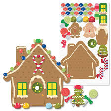 gingerbread house sticker sheets current catalog