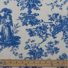blue french toile de jouy curtains memsaheb net
