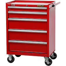 rolling tool storage cabinets stanley 27 inch 5 drawer rolling tool cabinet walmart com