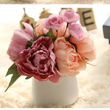 Peonies Bouquet Popular Peonies Bouquet Buy Cheap Peonies Bouquet Lots From China