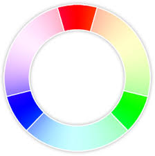 opposite color of pink colors on the web u003e color theory u003e the color wheel