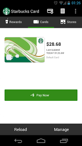 Starbucks Business Cards Starbucks Updates App To Follow Holo Design Guidelines Android