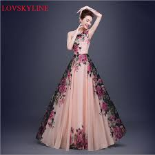 beautiful dress beautiful designs in stock one shoulder flower pattern floral