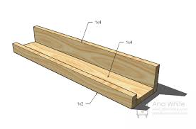 Ana White Build A 5 Board Bench Free And Easy Diy Project And ana white ten dollar ledges diy projects