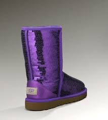 womens ugg boots purple sparkles 3161 boots purple