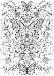 printable butterfly coloring pages for adults animals coloring