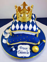 royal baby shower cake in french blue royal baby showers royal