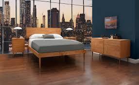 new larssen mid century modern bedroom furniture handcrafted in vt mid century modern bedroom handcrafted bed dresser nightstand
