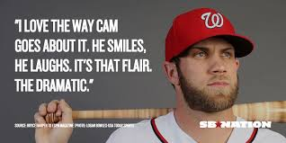 Cam Meme - bryce harper wants to bring cam newton level excitement to mlb