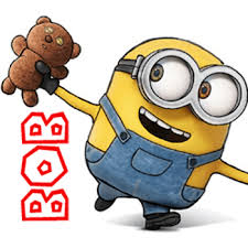 how to draw bob the minion with a teddy bear from the minions