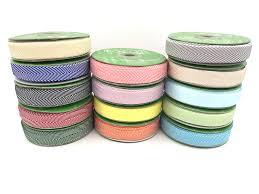 4 inch ribbon 3 4 inch twill chevron stripes ribbon may arts wholesale ribbon