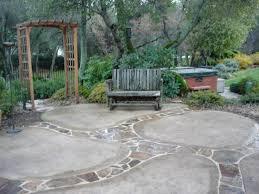 Backyard Cement Ideas Backyard Concrete Patio Design Ideas Cement Patio Cost Sted