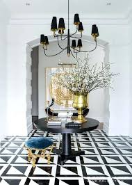 black metal entry table black foyer table modern style black hall table with open base black
