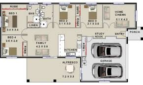 Narrow Lot 4 Bedroom House Plans 16 Pictures Narrow Lot 4 Bedroom House Plans House Plans 88385