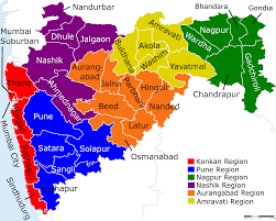 India Regions Map by Why Maharashtra Leads Real Estate Investments In India