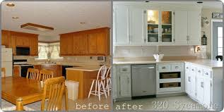 before after kitchen cabinets before and after painted kitchen cabinets fresh diy kitchen