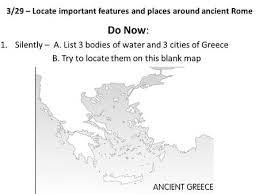 blank map of ancient greece it s all to me environment identity and government of