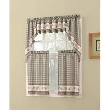 Kitchen Valances And Tiers by S Lichtenberg Berkshire Kitchen Valance Tier Swag Pine Green