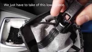 replacing a ford kuga or c max leather gear lever gaiter youtube