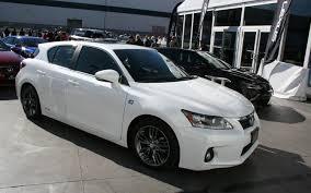 lexus ct 200h 5 door 1 8 f sport lexus ct 200h sema 2011 motor trend