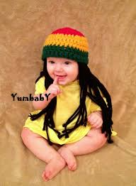 toddler halloween wigs baby hats rasta hat photo props toddler costume beanie wig