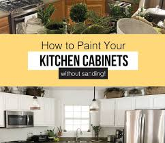 can you paint your kitchen cabinets without removing them how to paint kitchen cabinets without removing them visual