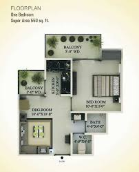 1 bhk floor plan 1 bhk 550 sq ft floor plan