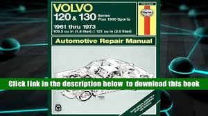 read online volvo 120 and 130 series and 1800 sports 1961 1973