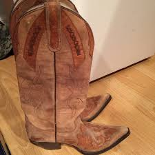 womens used cowboy boots size 9 58 pistolero shoes used cowboy boots size 9 from