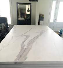 kitchen island counters a honed 12mm neolith island counter in a statuario marble finish