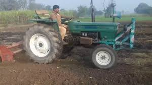 fiat 640 with rotavater in fields in punjab must watch 2017 youtube