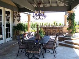 dining room exciting outdoor dining furniture with black steel