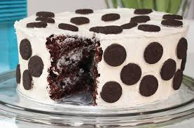 oreo cake will make you very popular with rich chocolate sponge