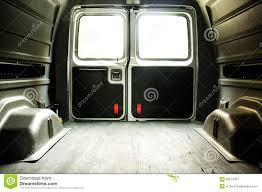 Ford Van Interior Interior Of An Empty Cargo Van Royalty Free Stock Photography