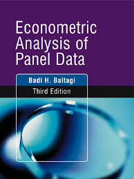 econometric analysis of panel data by badi h baltagi